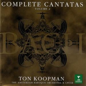 Bach: Cantatas, vol.2, Koopman, CD cover