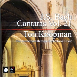 Bach: Cantatas, vol.21, Koopman, CD cover