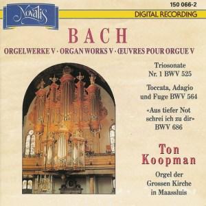 Bach: Organ Works, vol.V —Koopman, CD cover
