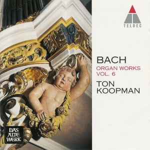 Bach: Organ Works, vol.6 — Koopman, CD cover