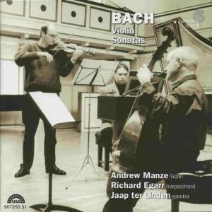 Bach: Violin Sonatas BWV 1014-1019, Manze/Egarr, CD cover
