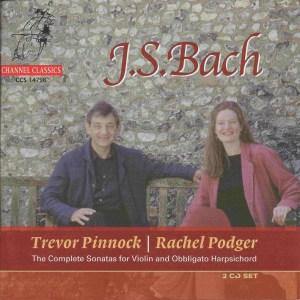 Bach: Violin Sonatas BWV 1014-1019, Podger/Pinnock, CD cover