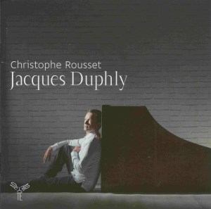 Jacques Duphly: harpsichord music, Rousset, CD cover