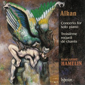 Alkan: Concerto for solo piano, op.39/8-10, Hamelin, CD cover