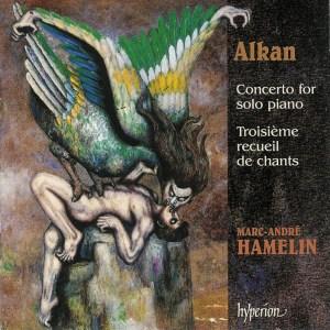 Alkan: Concerto for solo piano, op.39/8-10, Hamelin, CD cover