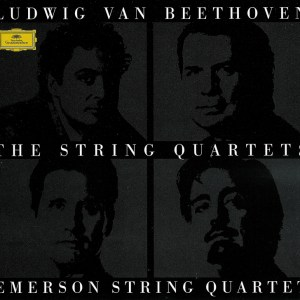 Beethoven, string quartets, Emerson String Quartet, CD cover