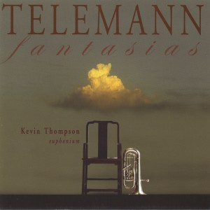 Telemann: 12 Fantasias (Euphonium), Thompson, CD cover