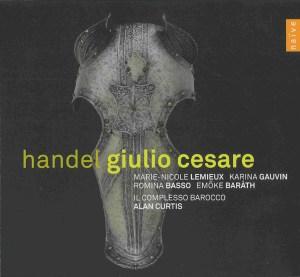 Handel: Giulio Cesare, Curtis, Lemieux, Gauvin, CD cover