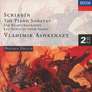 Scriabin: The piano sonatas, Ashkenazy, CD cover