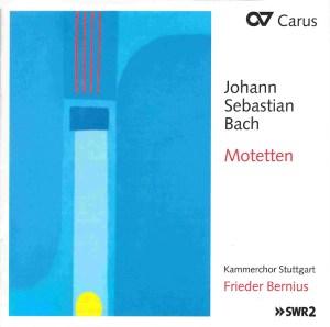 Bach: The Motets, Bernius, Kammerchor Stuttgart, CD cover