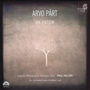 Arvo Pärt, Da Pacem, Hillier, CD cover