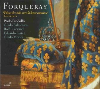 Antoine de Forqueray: Pièces de viole, Pandolfo, CD, cover