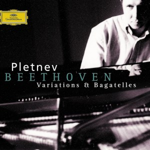 Beethoven: Variations & Bagatelles, Pletnev, CD, cover