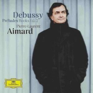 Debussy: Préludes I & II - Aimard, CD cover