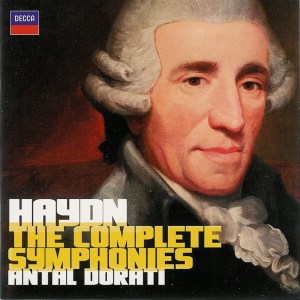 Haydn: The complete Symphonies, Antal Dorati, CD cover