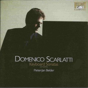 Domenico Scarlatti, Sonatas, Belder, CD, cover