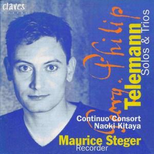 Telemann: Solos & Trios, Steger, Kitaya, CD cover