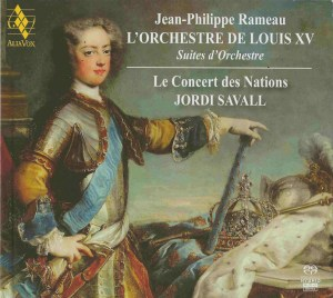 Rameau — L'Orchestre de Louis XV, Savall, CD cover