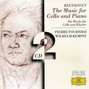 Beethoven: Cello sonatas, Fournier, Kempff, CD cover