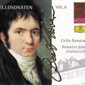 Beethoven: Cello sonatas, Maisky, Argerich, CD cover