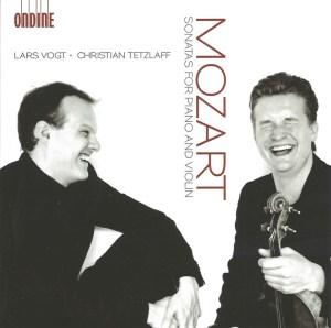 Mozart: Sonatas for piano & violin, Tetzlaff/Vogt, CD cover