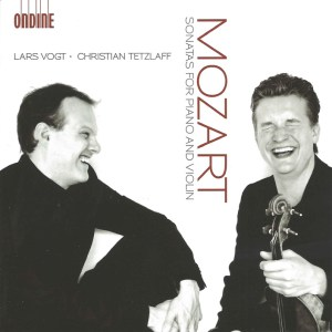 Mozart: Sonatas for piano & violin, Tetzlaff/Vogt, CD cover