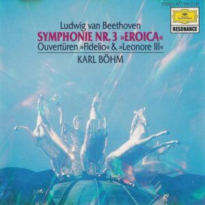Beethoven: Symphony 3 —Böhm / VPO; CD cover