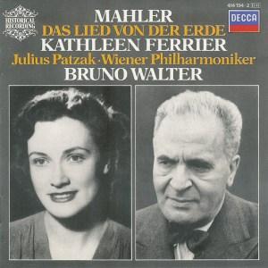 Mahler: Das Lied von der Erde —Walter/Ferrier/Patzak; CD cover