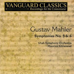 Mahler: Symphonies 5 & 6 —Abravanel; CD cover