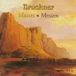 Bruckner: Masses 1 - 3 — Rilling; CD cover