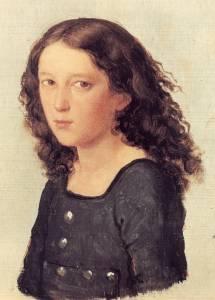 Mendelssohn Bartholdy, 1821, by Carl Joseph Begas
