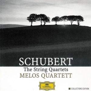 Schubert: String Quartets —Melos Quartett Stuttgart; CD cover
