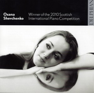 Oxana Shevchenko — Debut CD; CD cover
