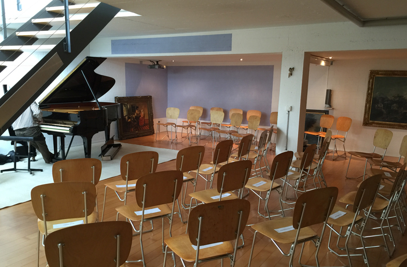 private concert venue, Zurich area