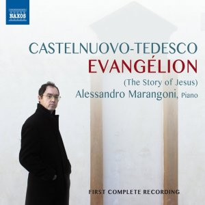 Castelnuovo-Tedesco: Evangélion —Marangoni; CD cover