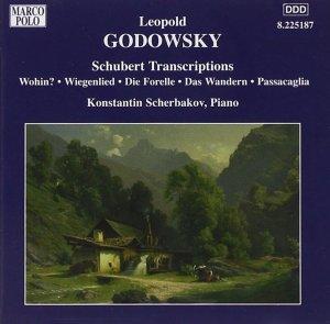 Godowsky, piano works, vol.6 (Schubert Transcriptions) —Konstantin Scherbakov; CD cover
