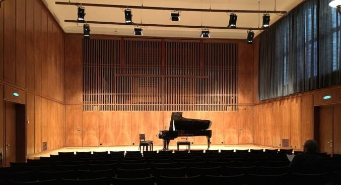 Bern Conservatory, big Hall (© Rolf Kyburz)