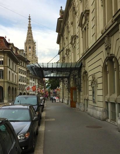 Bern Kultur Casino, Entry (© Rolf Kyburz)