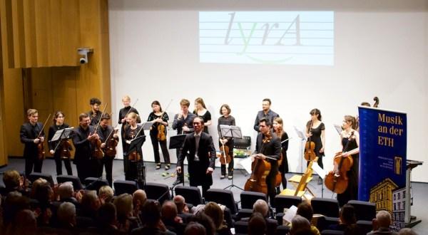 LYRA Concert @ ETHZ, Auditorium maximum, 2017-05-09 (© Rolf Kyburz)