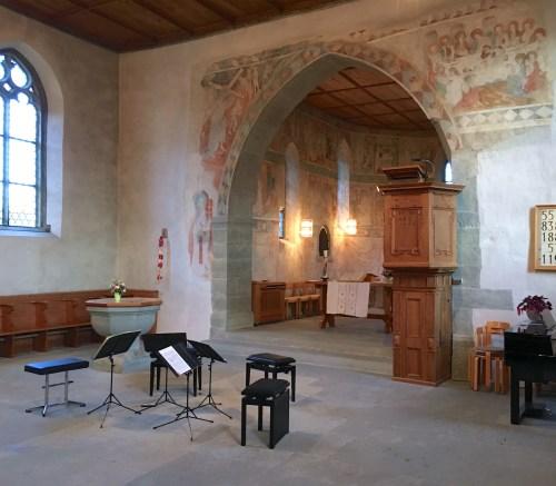 Kirche Burg, Stein am Rhein, 2017-10-01, concert Hagen Quartett (© Rolf Kyburz)