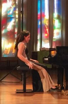 Piano Recital Beatrice Rana; Lucerne, Lukas-Kirche, 2017-11-24 (photo: Lea Kyburz)