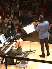 Yuja Wang & Leonidas Kavakos @ Tonhalle Maag, Zurich, 2017-12-12