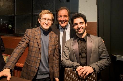 Dmitry Masleev, Howard Griffiths, Pablo Ferrández (© Thomas Entzeroth / Orpheum Foundation)