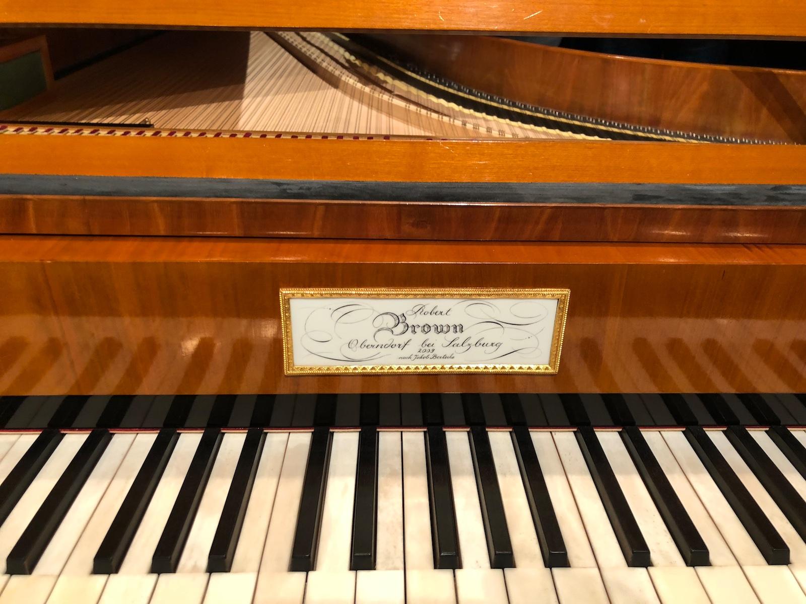 Concert Bezuidenhout / ZKO @ St.Peter, Zurich, 2018-03-07 , fortepiano (photo © Rolf Kyburz)