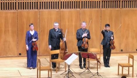 Quatuor Diotima (© Rolf Kyburz)