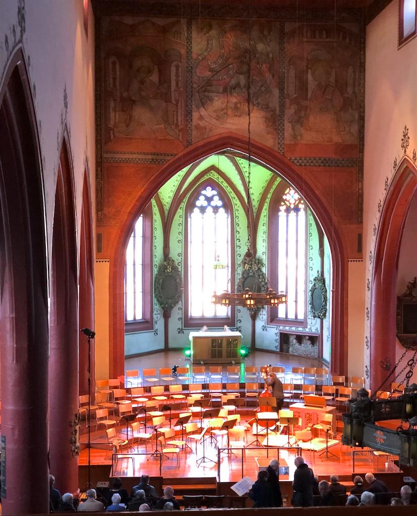 Basel, Martinskirche, 2018-03-29