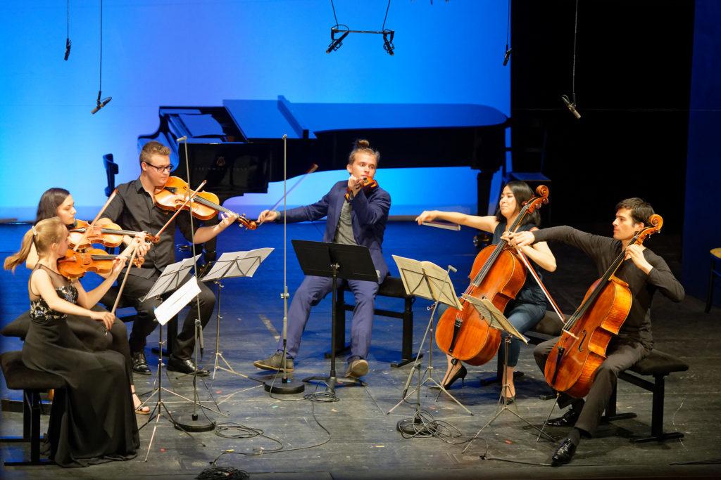 Festival Academy Budapest, 2018-07-25: Danjulo Ishizaka, Dmitry Smirnov & Students
