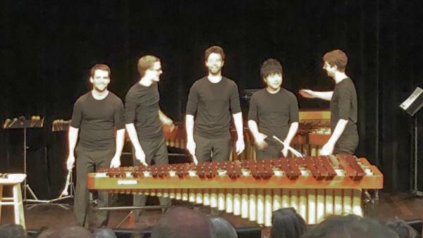 Cosmic Percussion Ensemble @ Lucerne, 2019-01-27 (© Rolf Kyburz)