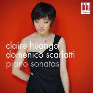 Domenico Scarlatti, 39 Sonatas —Claire Huangci (CD cover)