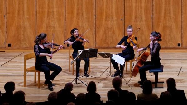 Quatuor Akilone, Bern, 2019-04-01 (© Rolf Kyburz)